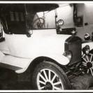 Voici une Ford 1918 à laquelle Aldéi Bissonnette son propriétaire actuel a donné un excellent reconditionnement.