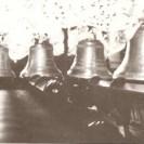 Après l'érection de la nouvelle église en 1925, ce fut l'installation et la bénédiction des 4 cloches qui ont coûté 2 772 $ et qui pesaient approximativement 4 300 livres. La première appelée Fa, est baptisée au nom de Pie XI et pèse 2150 livres. Elle est gravée aux effigies du Christ, de Pie XI, de la foi, l'espérance, la charité et de Saint Janvier. La deuxième, Si bémol, porte le nom de Paul et pèse 2150 livres. Sur celle-ci, on a gravé les effigies du Christ, de Mgr Paul Larocque et de l'ange gardien. La troisième est gravée comme suit : Le Christ, Ste-Anne, St-Joseph et St-Jean-Baptiste. Elle pèse 650 livres. La quatrième cloche porte le nom de Ferdinand en l'honneur du prêtre curé Ferdinand Rousseau. Elle est gravée aux effigies du Christ, de la Vierge Immaculée, du bon Pasteur et de la petite Thérèse de L'Enfant-Jésus.
