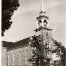 Photographie de l'église St-Janvier à partir de la route 1 aujourd'hui 112.