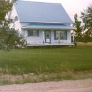Cette maison appartient actuellement à Clément et Lise Fréchette. Photographiée en 1991 et située dans le rang II ouest de Weedon.