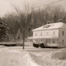 Une grande résidence a été bâtie par la ville de Sherbrooke près du barrage électrique Two Miles Falls. Elle était habitée par les employés qui travaillaient au barrage. Monsieur Maurice Gilbert et sa famille y ont été locataires pendant de nombreuses années. Elle a été démolie dans le temps où il n'était plus nécessaire pour la ville d'avoir des employés sur les terrains du barrage.