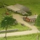 Ferme Gérald Palardy. La ferme actuelle comprend un lot, identifié 14 et 15 aujourd'hui, près de la rivière Canard et une autre partie située beaucoup à l'est, identifiée lot 25. La maison est située sur la partie principale, le lot 14 et 15, près de la rivière. À l'origine du canton, c'était la partie sud-ouest du lot 18 du rang VI du village Lac Weedon. Le plus ancien propriétaire de cette ferme que l'on a découvert par les anciens contrats est Alphonse Audet. Selon d'autres documents moins officiels, ce dernier aurait acquis la part appartenant à son frère Antonio Audet quelques années auparavant alors qu'ils étaient propriétaires conjoints. À son tour, Alphonse Audet l'a vendue à Ernest Lacroix le 28 juin 1926. Le 5 avril 1961, Gérald Palardy est devenu propriétaire de cette ferme à laquelle monsieur Ernest Lacroix avait ajouté le lot identifié 25 ( à l'origine la partie nord-est du lot 20 du rang VI ) de la municipalité du Lac Weedon pour agrandir sa ferme. Il avait acquis ce deuxième lot sans bâtisse de Edmond Côté en mai 1928. Ce dernier l'avait acheté en décembre 1919 de Ludger Brière, résidant de Holyoke, Massachusetts; alors que Alphonse Brière l'avait obtenu de Paul Côté en octobre 1914. Possiblement qu'il y a eu transaction entre Ludger et Alphonse Brière entre ces deux derniers transferts.