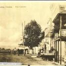 La rue Centrale de Weedon Station où l'on peut voir les 4 grands magasins bâtis dans la première décennie du siècle.