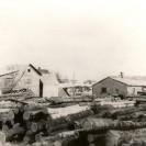 Ce moulin semble faire ses débuts en 1920 avec Adolphe Tanguay pour trancher le bois et fabriquer un genre de veneer pour faire des boîtes à fromage. René Tanguay a continué l'oeuvre de son père puis y a mis fin définitivement par la suite. C'est vers 1930 que Martin Lagueux achète cette scierie puis abandonne à son tour les opérations de ce moulin. C'est au tour de Mathias Caron de repartir le moulin qui fonctionnera tantôt à l'énergie hydraulique puis tantôt à la vapeur après avoir reconstruit le barrage pour la réserve d'eau nécessaire pour le faire fonctionner.  En 1936, Jos Denis a acquis de Mathias Caron ce moulin à scie situé sur la 5e avenue. Avec sa famille, il le fera fonctionner jusqu'en 1944.  Par la suite, il l'a revendu à Henri Rousseau